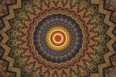 orientalisk prydnad för garnering royaltyfri illustrationer