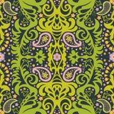 orientalisk prydnad paisley Royaltyfri Bild
