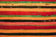Orientalisk prydnadmattbakgrund arkivbild