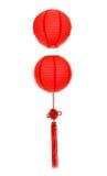 Orientalisk röd lykta Royaltyfri Foto