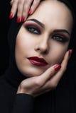orientalisk skönhet Royaltyfria Bilder