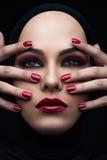 orientalisk skönhet Fotografering för Bildbyråer