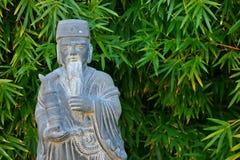 Orientalisk staty Arkivfoton