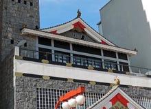 Orientalisk stilbyggnad Arkivfoton