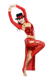 Orientalisk tangodansare Arkivfoton