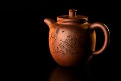 orientalisk tea för set 3 Arkivfoto