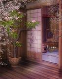 orientalisk teahouse 4 Arkivfoton