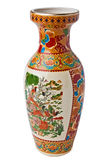orientalisk vase arkivfoto