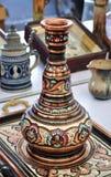 orientalisk vase arkivbilder