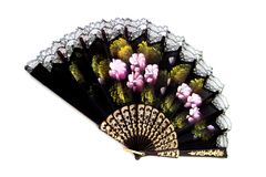 orientalisk ventilator Fotografering för Bildbyråer