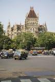 Orientaliska byggnader i Mumbai, Indien Royaltyfria Foton