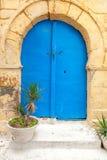 Orientaliska dörrar Arkivbild