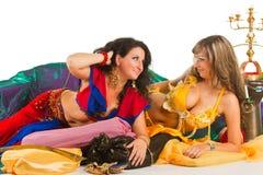orientaliska dansare Arkivfoto