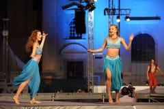 Orientaliska dansare Royaltyfri Foto