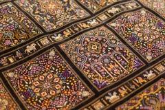 orientaliska filtar Arkivfoton