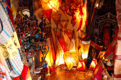 orientaliska granada shoppar arkivfoto
