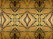 Orientaliska järndesigner och prydnader royaltyfria foton