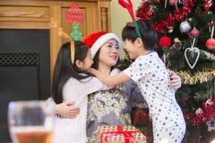 Orientaliska julomfamningar Royaltyfria Bilder