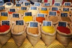 orientaliska kryddor Arkivbild