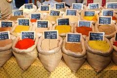 orientaliska kryddor Arkivfoto