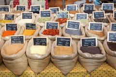 orientaliska kryddor Royaltyfria Bilder