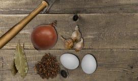 orientaliska kryddor ovanför sikt Royaltyfri Fotografi