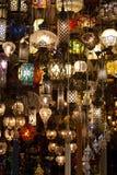 Orientaliska lampor Arkivfoton