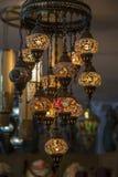 orientaliska lampor Royaltyfri Fotografi