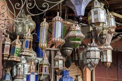 orientaliska lampor Royaltyfria Bilder