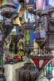 orientaliska lampor Royaltyfri Bild