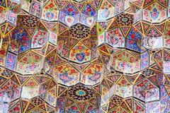 orientaliska prydnadar Arkivfoto