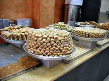orientaliska sötsaker för baklawa Arkivfoto