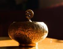 orientaliska sötsaker för kaffekopp Royaltyfri Foto