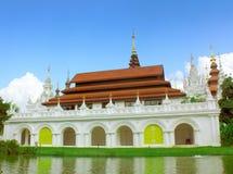 Orientaliska stilbyggnader Royaltyfri Foto