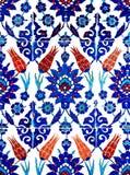 orientaliska tegelplattor Fotografering för Bildbyråer