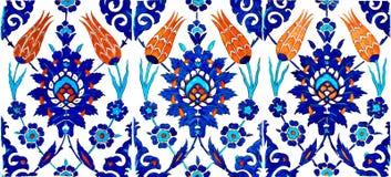 orientaliska tegelplattor Arkivbilder