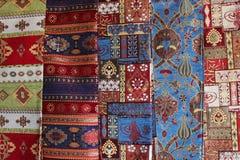 Orientaliska turkmattor Royaltyfria Bilder