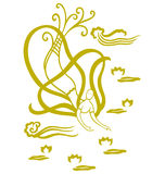 orientaliskt ängelflyg Royaltyfri Bild
