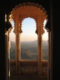 orientaliskt fönster Arkivbild