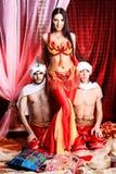 orientaliskt folk Arkivbild