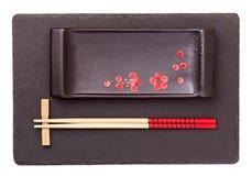 Orientaliskt isolerat stilbestick Royaltyfri Foto