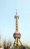 orientaliskt pärlemorfärg torn Royaltyfria Bilder