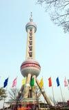 orientaliskt pärlemorfärg torn Arkivfoto