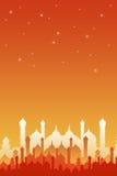 Orientaliskt på nätterna royaltyfri illustrationer