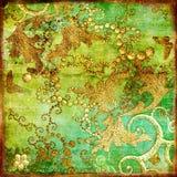 Orientaliskt tappningpapper Arkivbild