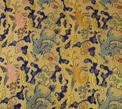 orientaliskt tyg Royaltyfria Foton