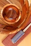 Orientall que janta a decoração Fotografia de Stock Royalty Free