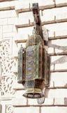 Orientalna lampa z pomysłowo ornamentami Obrazy Stock