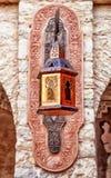 Orientalna lampa z pomysłowo ornamentami Zdjęcie Royalty Free