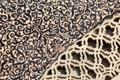 Orientalna mozaika w Maroko Zdjęcia Stock